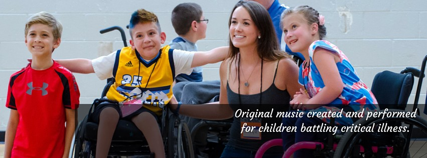 Chase the Music helps children battling critical conditions, by having original music composed and performed for them.