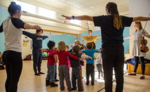 CU Dance Pedagogy Class 2018